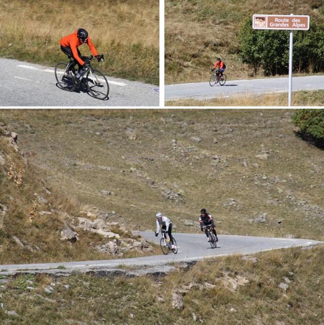 Col du Calibier. descent